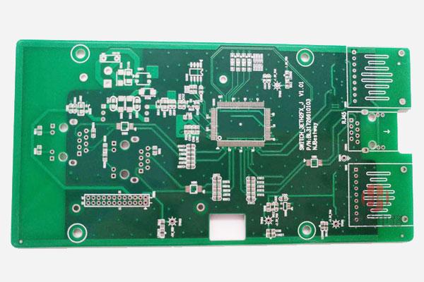 喷锡双层PCB板,双层电路板喷锡,喷锡双层线路板
