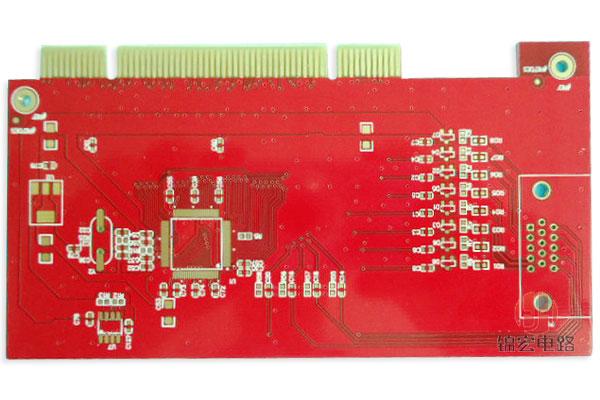 4层金手指PCB电路板