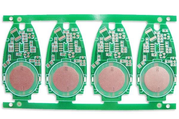 汽车遥控钥匙pcb线路板,钥匙电路板