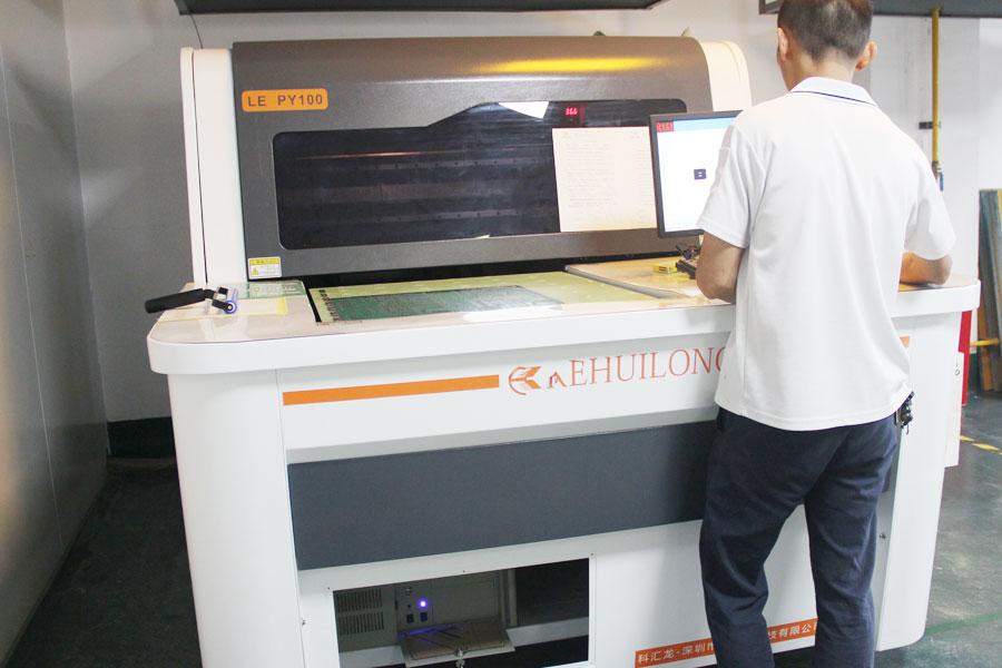 pcb自动丝印机