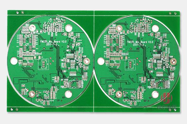 双面喷锡圆形PCB线路板