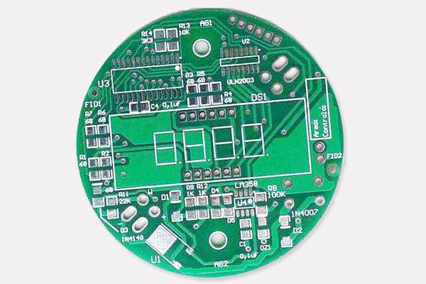 圆形pcb电路板