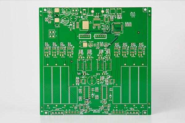 4层绿油沉金PCB线路板