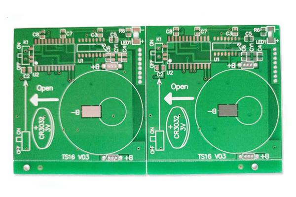 遥控电扇PCB线路板